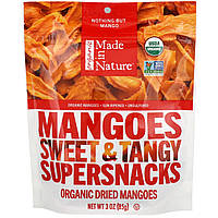 "Сушеные плоды манго Made in Nature ""Mangoes Sweet & Tangy Supersnacks"" (85 г)"