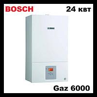 Газовый двухконтурный котел 24 квт  Bosch Gaz 6000 WBN 24C RN