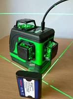 Лазерный 3D уровень/нивелир Chang Sheng (3*360) [2 li-ion аккумулятора в ПОДАРОК]