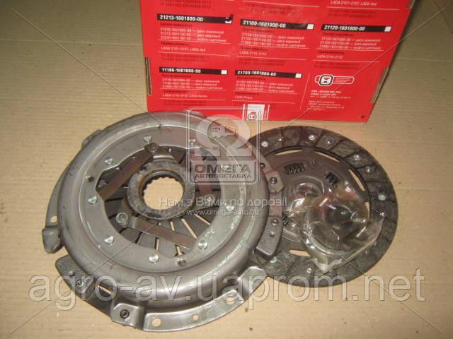 Сцепление (21213-160100000) ВАЗ 21213 (диск нажим.+вед.+подш) (пр-во ОАТ-ВИС)