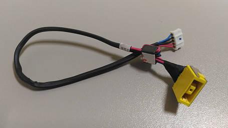 Разъем питания PJ207 (Lenovo: G400, G490, G500, G505, G700, G710, Z501), с кабелем, фото 2