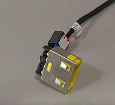 Разъем питания PJ207 (Lenovo: G400, G490, G500, G505, G700, G710, Z501), с кабелем, фото 3