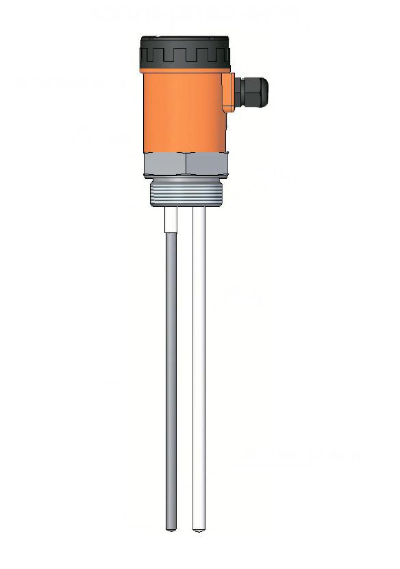 Емкостный сигнализатор реле уровня серии ECAS 408A для клейких, кислотных и лужных веществ