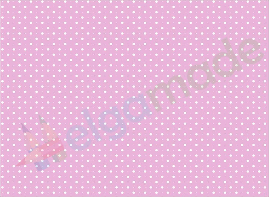 Фетр з принтом ГОРОШОК НА СВІТЛО-ЛАВАНДОВОМ, 22x30 см, корейська жорсткий 1.2 мм