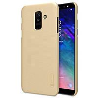 Чехол Nillkin Matte для Samsung Galaxy A6 Plus (2018) Золотой (588625)