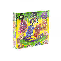 Набор для опытов  Crazy Slime - Лизун своими руками , 4 цвета (укр)