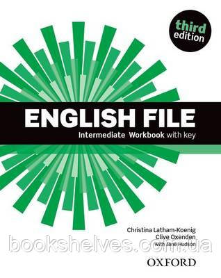 English File 3rd Edition Intermediate WorkBook + key