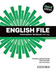 English File 3rd Edition Intermediate WorkBook + key