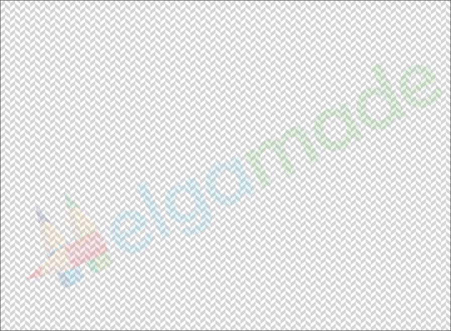 Фетр з принтом ПАТЕРН ЯЛИНКА СІРА, 22x30 см, корейська жорсткий 1.2 мм