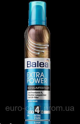 Пена для волос экстра сила Balea Mousse Extra Power (4)