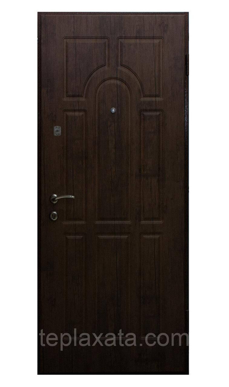 Дверь входная металлическая FEROOM Мила порошок/МДФ