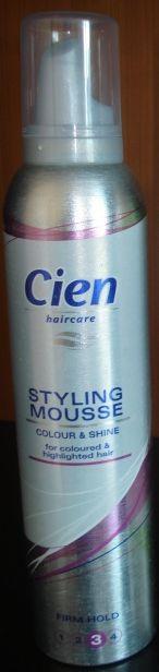 Пена для волос Cien Mousse Festiger (3)