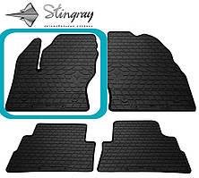 Ford Kuga  2013- Водительский коврик Черный в салон