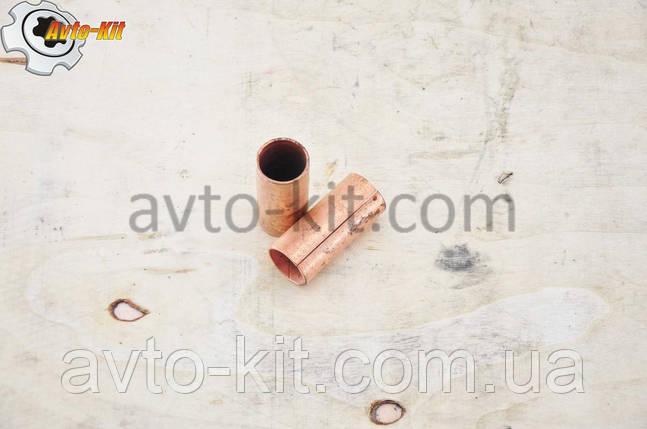 Втулка ушка рессоры задней Foton 1043 Фотон 1043 (3,7 л) (медная), фото 2