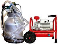 Доильный аппарат Белка-2 Мини 3000 (два ведра по 20 л, на четыре козы)