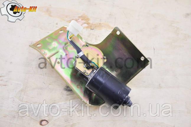 Двигатель стеклоочистителя с кронштейном 24В Foton 1043 Фотон 1043 (3,7 л), фото 2