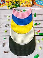 Козырьки к кепкам-конструкторам для Lego, фото 1