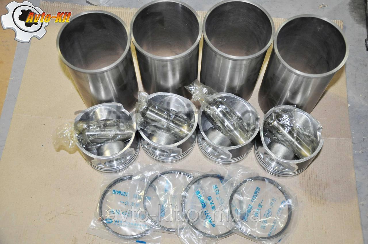 Комплект поршневой FAW 1031, 1041 ФАВ 1041 (3,2 л)  (4гил, 4пор, 4пал, 4кол) палец 31 мм