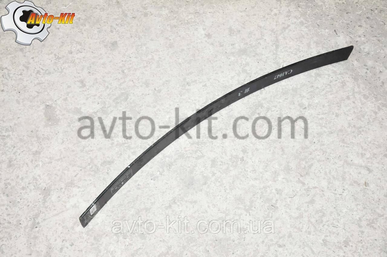 Лист рессоры передней №3 FAW 1031, 1041 ФАВ 1041 (3,2 л)
