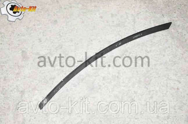 Лист рессоры передней №3 FAW 1031, 1041 ФАВ 1041 (3,2 л), фото 2