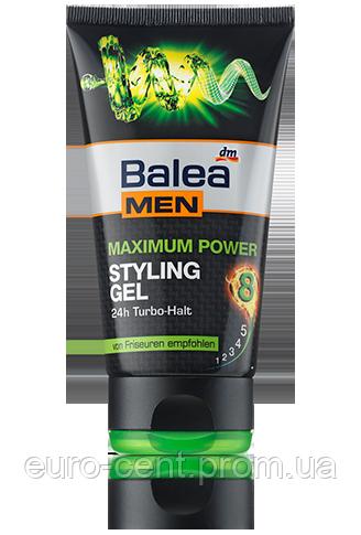 Гель для волос мужской Balea Styling Gel MEN Maximum Power