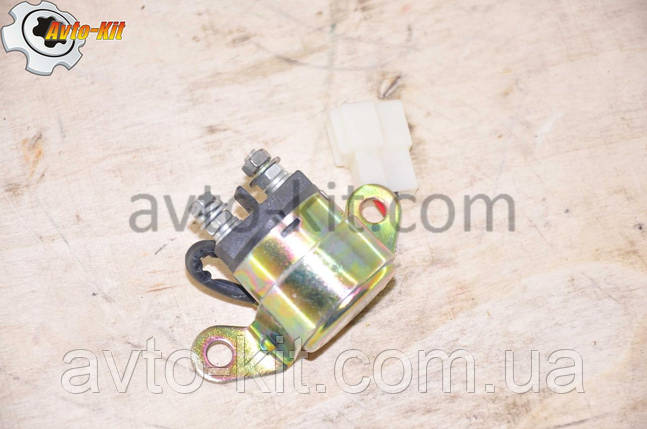 Реле стартера 12В FAW FAW 1031, 1041 ФАВ 1041 (3,2 л) (2 контактное в фишке), фото 2