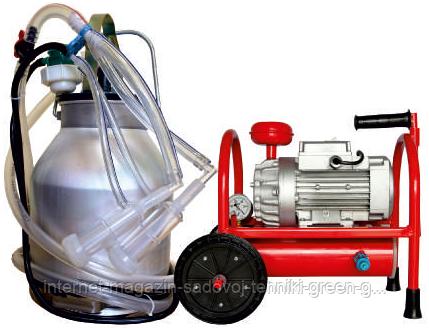 Доильный аппарат Белка-2 Мини 3000 (три ведра по 20 л, на шесть коз)