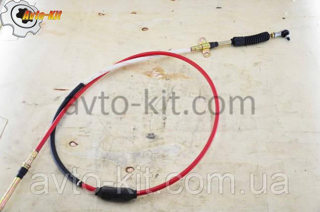 Трос выбора передач (красный) FAW 1031, 1041 ФАВ 1041 (3,2 л), фото 2