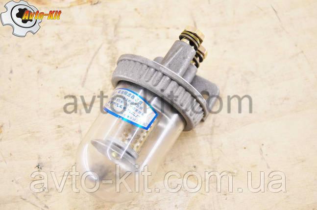 Фильтр топливный грубой очистки в сборе с колбой (F8) FAW 1031, 1041 ФАВ 1041 (3,2 л), фото 2