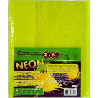 Обложка для тетрадей Обложка для тетрады NEON А5 с клапаном PVC ZiBi ZB.4760