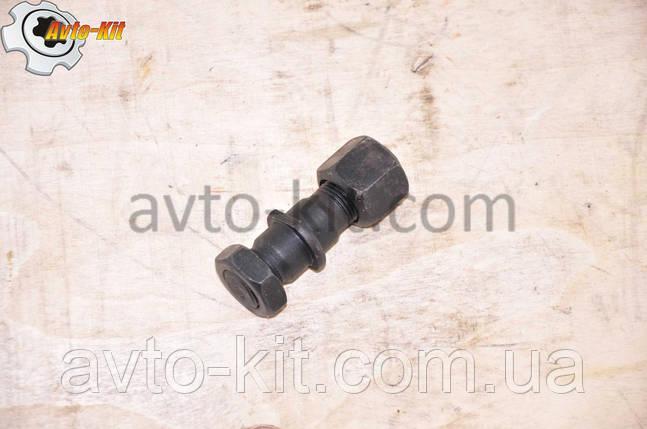 Шпилька, гайка, гайка колесная Задней ступицы Левая FAW 1031, 1041 ФАВ 1041 (3,2 л), фото 2