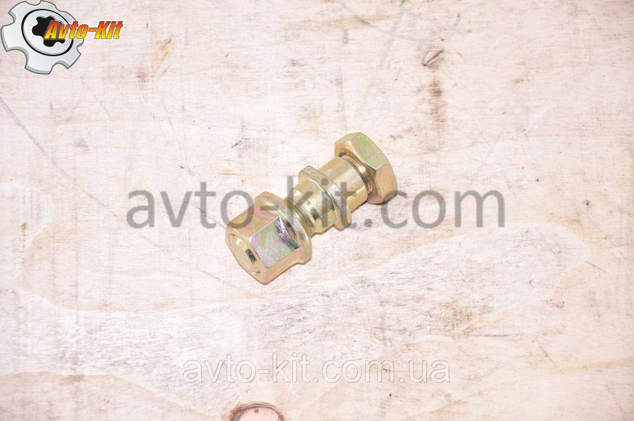 Шпилька, гайка, гайка колесная Передней ступицы Левая FAW 1031, 1041 ФАВ 1041 (3,2 л)