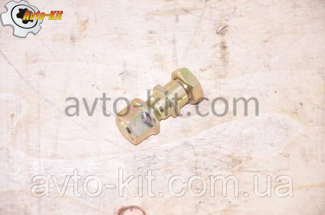 Шпилька, гайка, гайка колесная Передней ступицы Левая FAW 1031, 1041 ФАВ 1041 (3,2 л), фото 2