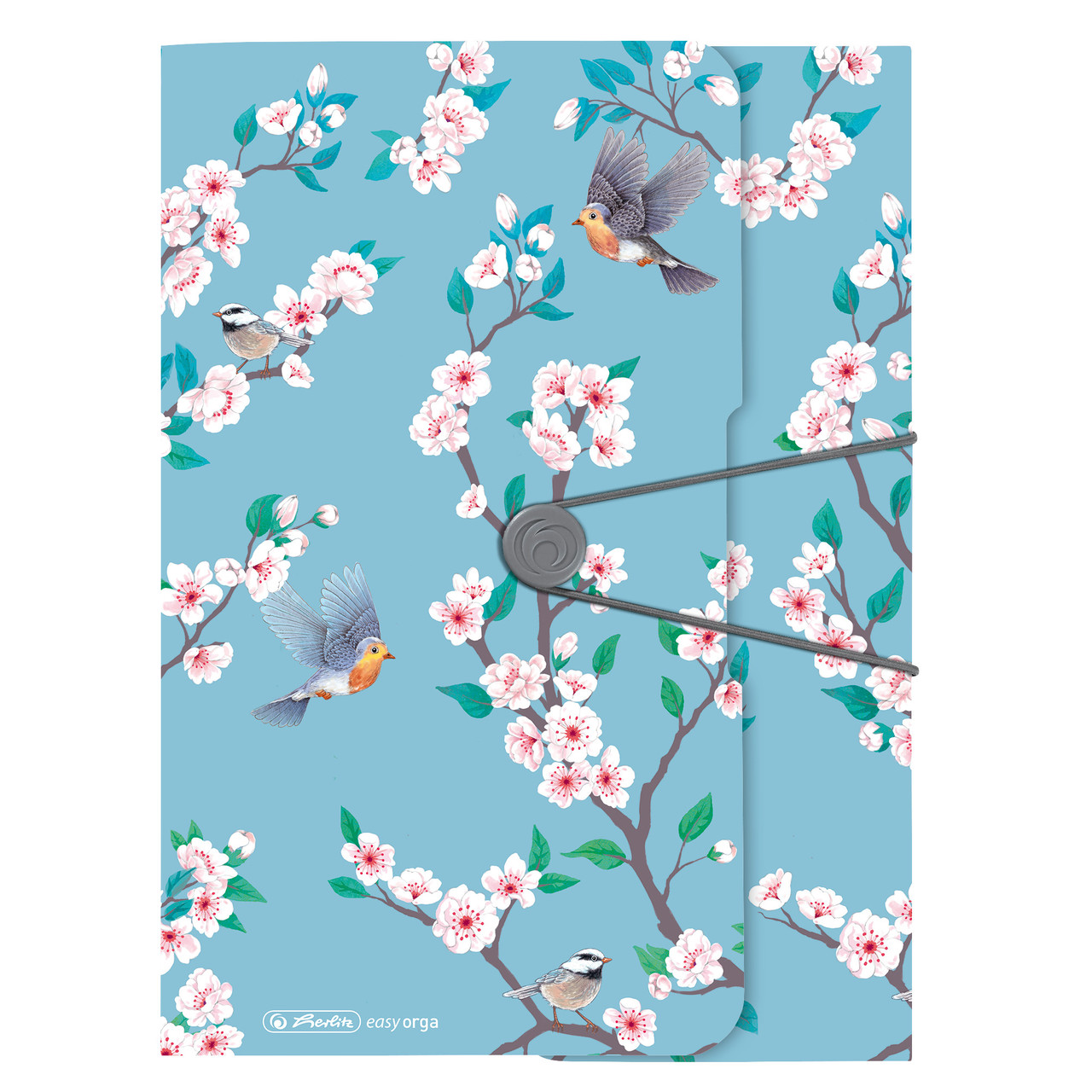 Папка на резинке Herlitz А4 Ladylike Birds