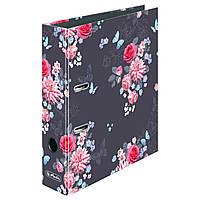 Папка-регистратор Herlitz А4 8см Ladylike Flowers