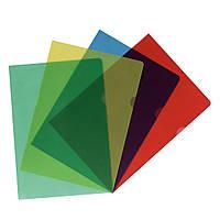 Папки-уголки Herlitz А4 20шт 115 мкм тисненые цветные