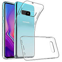 Силіконовий чохол Samsung Galaxy S10e Прозорий
