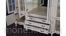 """Шкаф в гостиную из натурального дерева """"Регина"""" №2, фото 3"""