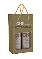 Набор ''Кератиновое восстановление'' CHI Breath Of Fresh Hair Kit | Шампунь 946мл + Кондиционер 956мл