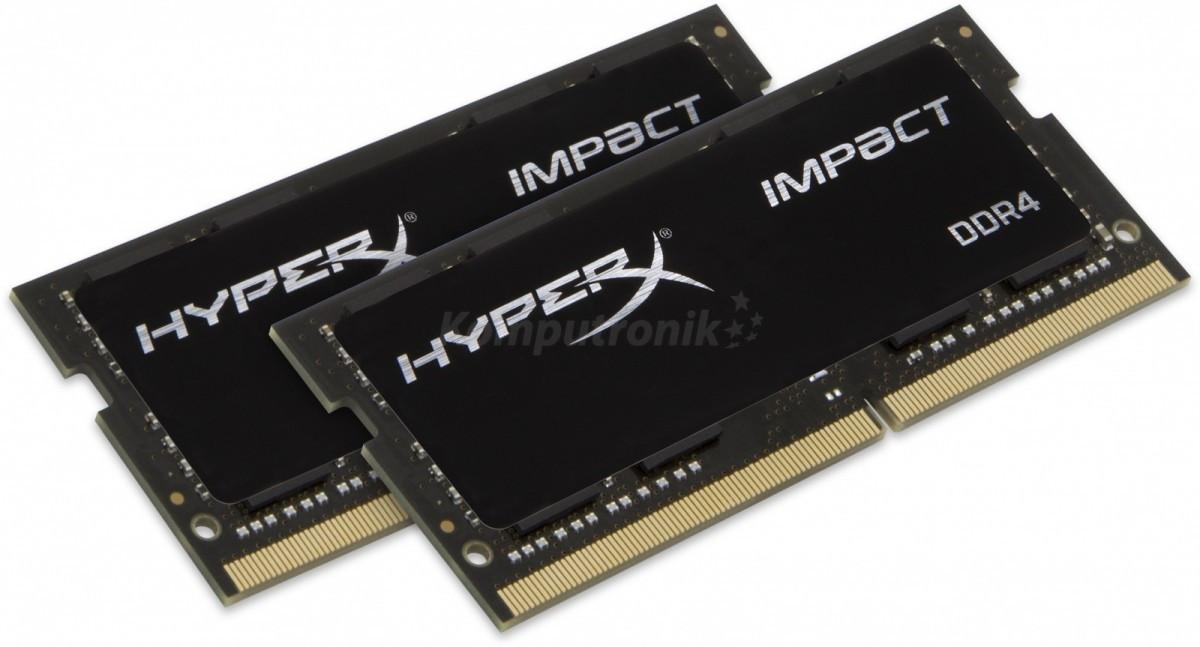 HyperX Impact 16GB 2x8GB 2666MHz DDR4 CL15 SODIMM (HX426S15IB2K2/16)