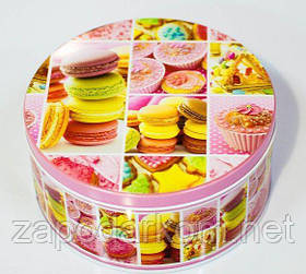 Солодкий подарунок цукерки в жерстяній коробці, 500г