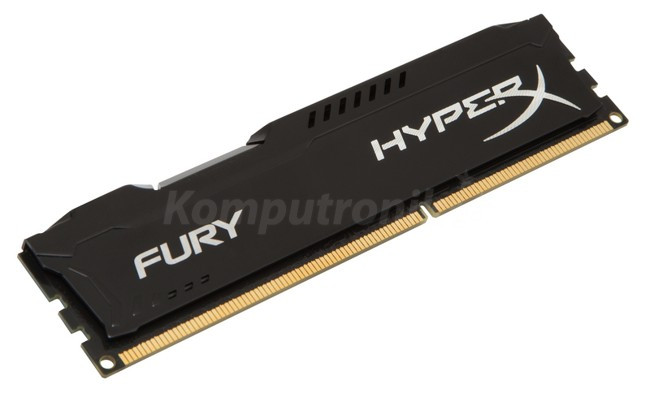 HyperX Fury Black 8GB 2x4GB 1600MHz DDR3 CL10 DIMM (HX316C10FBK2/8)