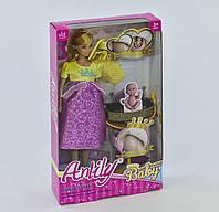 Кукла Anlily беременная 99203 с аксессуарами