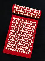 Коврик и подушка (валик) аппликатор Кузнецова Массажный массажер для спины/ног набор VMSport vms-004
