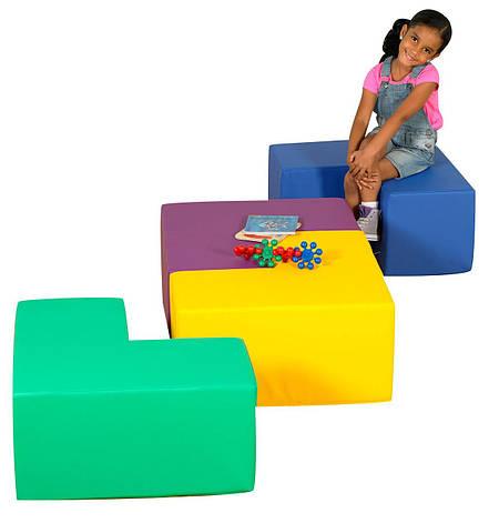 """Модульные сидения-столик """"Геометрия"""", фото 2"""