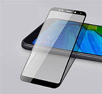 Защитное стекло Mocolo для Xiaomi Redmi 5 Plus Full Glue 5D Black (0.33 мм)