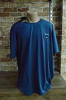 5004 Мужская футболка большого размера. Джинс. Paul Shark, фото 1