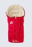 Конверт на овечьей шерсти Baby Breeze 0358  (красный)