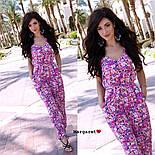 Женский комбинезон брюками в расцветках, фото 3