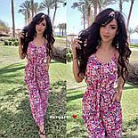 Женский комбинезон брюками в расцветках, фото 5